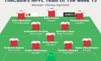 Pascal, Dimgba, Kester… TheCable's NPFL team of the week