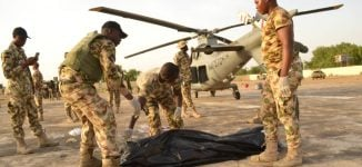 How helicopter blade killed airman in Borno