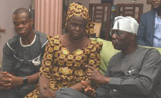 Sanwo-Olu visits Kolade Johnson's family, vows to fight indiscriminate killings