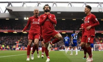 Mo Salah missing from PFA's EPL team of the season