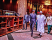 Buhari hosts Emir of Qatar at Aso Rock