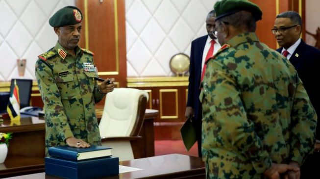 Sudan's new military council chief steps down