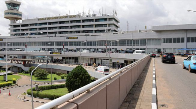 Tight security at Lagos airport ahead of Buhari's visit