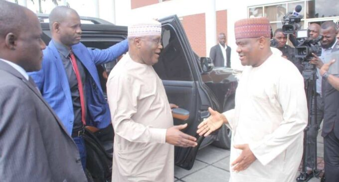 Atiku: PDP blessed to have a political gladiator like Wike