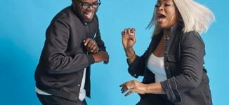 WATCH: Funke Akindele, JJC Skillz show off dancing skills as he celebrates birthday