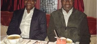 Billionaire bromance: Otedola pens touching tribute on Dangote's birthday