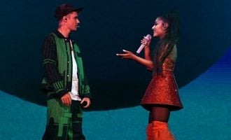 Justin Bieber teases new album at Ariana Grande's Coachella set