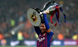 Messi sets new records, wins 10th La Liga title with Barcelona