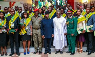 Buhari offers scholarships, employment to 168 ex-corps members