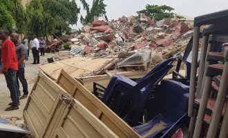 FCT demolishes club where 'strippers' were arrested