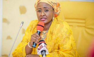 Aisha Buhari attacks Garba Shehu, says he's gone beyond his boundary