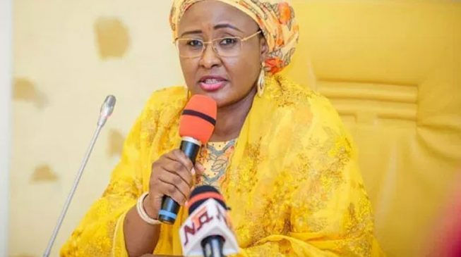 'The programmes you coordinated failed in the north' — Buhari's wife hits Maryam Uwais