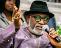 Akeredolu visits Buhari, demands legalisation of marijuana
