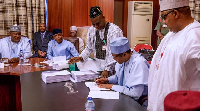 Buhari: Adjustment of 2019 budget may affect implementation