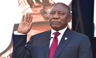 Ramaphosa vows 'new era' at inauguration as S'Africa's president