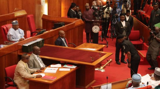 IGP appears before senate over insecurity