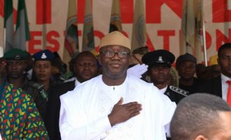 Fayemi elected chairman of Nigerian Governors' Forum
