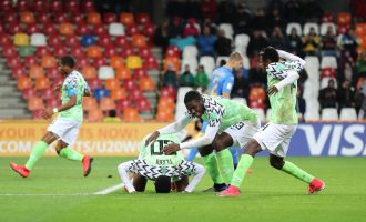 Flying Eagles advance to world cup round of 16 as 'best losers'