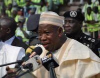 Ganduje: I'm committed to the fight against corruption