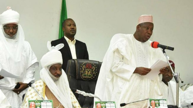 Ganduje signs law to break Kano emirate into five