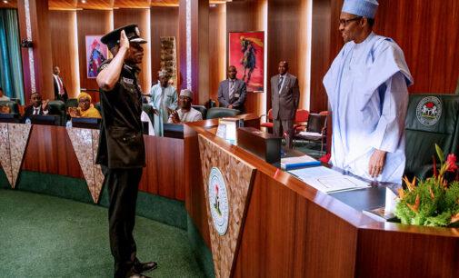 Adamu can remain as IGP till 2023, says Buhari