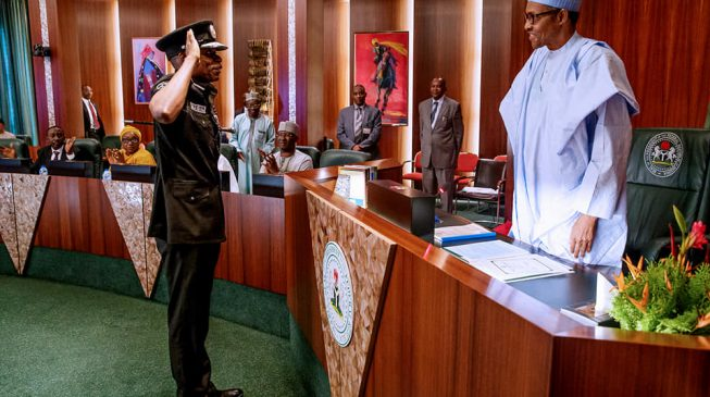 Buhari meets IGP, PSC chairman over 'recruitment crisis'