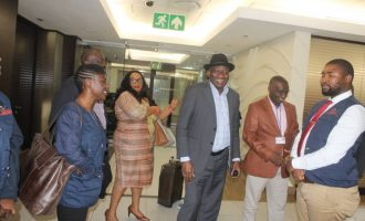 Jonathan leads mission to monitor South Africa's general election