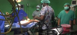 JUTH undertakes first brain surgery using drilling machine