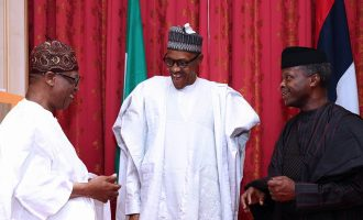 EXTRA: I'm not sure Lai, Abba Kyari are well behaved this Ramadan, jokes Osinbajo