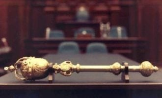 Drama as Imo speaker 'flees with mace' to avoid impeachment