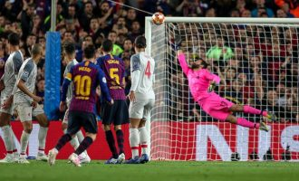 Messi hits 600 goals with sublime free kick to bury Liverpool at Camp Nou