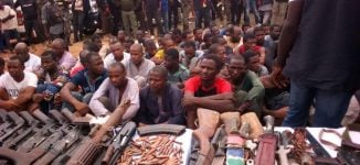 Operation Puff Adder: Police arrest 93 kidnap suspects, recover weapons
