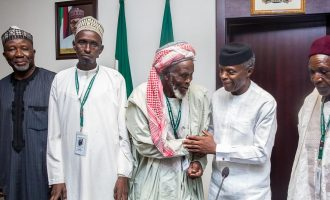 Osinbajo: Buhari said you're insane if you say 'Allah Akbar' and kill someone