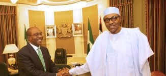 Emefiele: I'm optimistic Buhari will appoint ministers on time