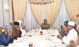 Tinubu meets with Buhari, Mamman Daura in Saudi Arabia