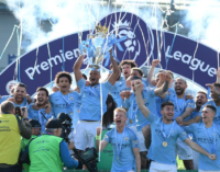 Man City retains EPL title, equals Man Utd back-to-back record