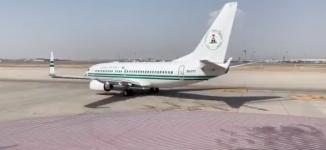 VIDEO: Buhari departs Saudi for Abuja
