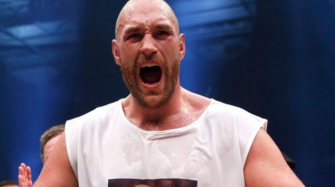 'Grow up and fight somebody' — Tyson Fury sends message to Anthony Joshua