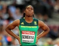 Caster Semenya loses as court bars women with high testosterone from some track races