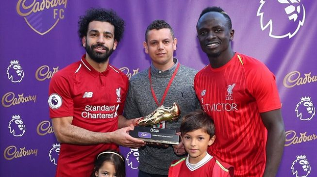 Salah, Mane, Aubameyang share 2018/19 EPL Golden Boot