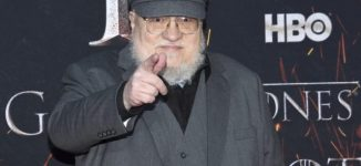 George RR Martin debunks claims he's finished writing 'Game of Thrones'