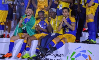 Ahmed Musa wins Saudi league title with Al Nassr