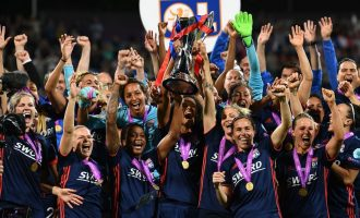 Lyon thrash Oshoala's Barca to lift 4th back-to-back Champions League title