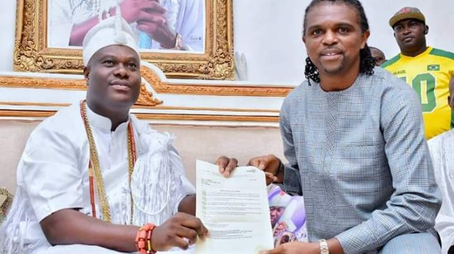 Ooni says Kanu 'has touched the heart of God'
