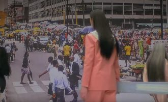 WATCH: Rihanna features Lagos in new campaign for her fashion brand