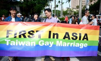 Taiwan legalises same-sex union in historic first for Asia