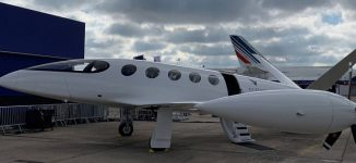 Israeli company unveils 'world's first' electric plane