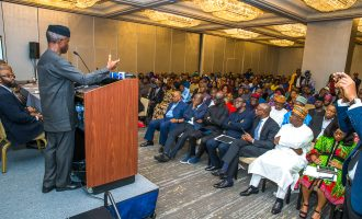 On Osinbajo's US trip and Frank Gaffney's gaffe
