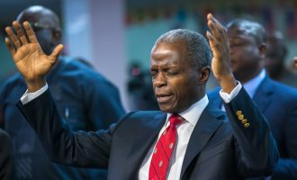 PHOTOS: Osinbajo worships at RCCG in New York