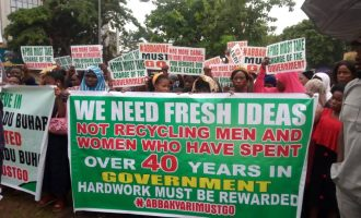 'Buhari free to retain him' — group dissociates self from protest against Abba Kyari